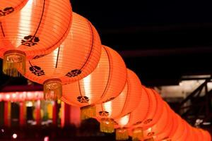 rote Laternen für chinesisches Neujahr