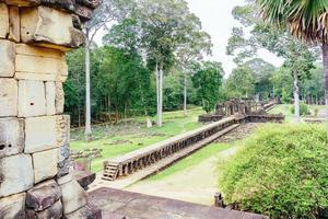 Blick auf den Baphuon-Tempel, Angkor Thom, Siem Reap, Kambodscha