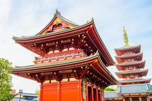 Sensoji-Tempel in Tokio, Japan