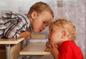 zwei kleine Brüder foto