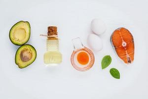 Omega-3-Nahrungsquellen foto