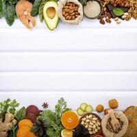 gesunde Lebensmittelgrenzen foto