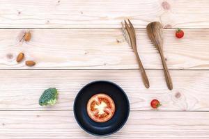 Holzutensilien kochen