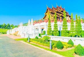 königlicher pavillon in chiang mai, thailand