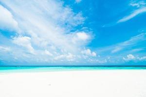 schöner weißer Strand