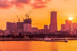 schöne Gebäude in Yokohama Stadt