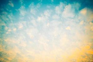 Vintage Wolken Hintergrund foto