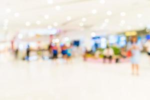 abstrakt verschwommenes Einkaufszentrum