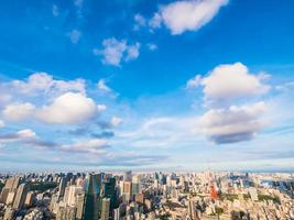 Stadtbild von Tokio Stadt in Japan foto