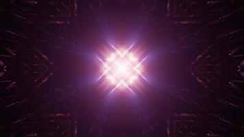 bunte 3d Kaleidoskop-Entwurfsillustration für Hintergrund oder Textur