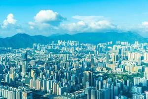 Stadtbild von Hong Kong City, China