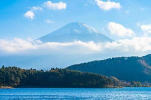 mt. Fuji in Japan im Herbst