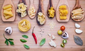 italienisches Gericht Konzept foto