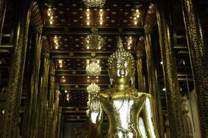 Thailändischer buddhistischer öffentlicher Tempel in Chiang Mai