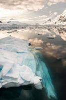 Paradiesbucht in der Antarktis foto