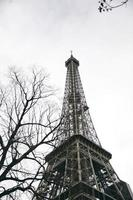 Eiffelturm in Paris, Frankreich foto