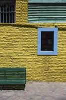 bunte Fassade von Caminito in La Boca, Buenos Aires, Argentinien