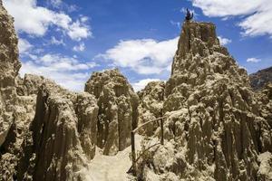 valle de la luna in bolivien