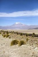 Vulkan Licancabur in Bolivien
