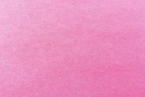 Nahaufnahme des hellrosa Papierstrukturmusters für Hintergrund foto
