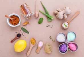 natürliche alternative Hautpflege