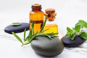 organische ätherische Öle foto