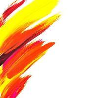 Acrylpinsel streicht abstrakten Hintergrund