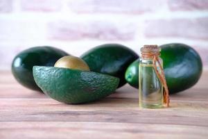 Avocados und Avocadoöl