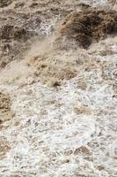 Urubamba Fluss in Peru foto