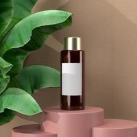 Kosmetik, Schönheit der Hautpflege, Modell des Verpackungsdesigns foto