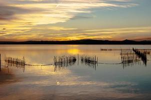 Albufera Mündung in Valencia, Spanien foto