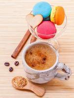Kaffee und Dessert