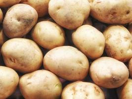 Nahaufnahme von Kartoffeln foto
