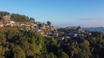 Phahee Dorf, Chiang Rai, Thailand foto