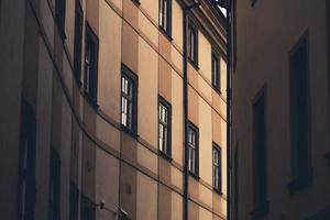 architektonische Hintergrundfassade foto