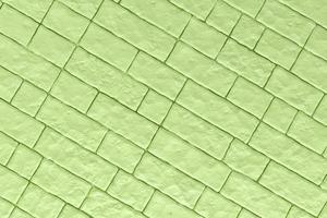 3d Illustration einer grünen Wand