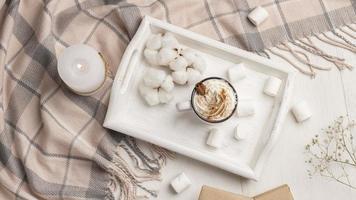 gemütliches Kaffeekonzept foto