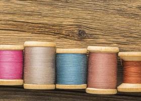 Draufsicht auf Thread mit Kopierraum