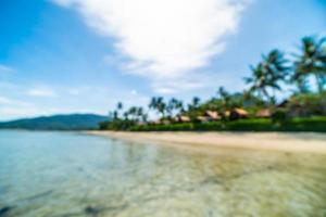 abstrakter verschwommener tropischer Strand