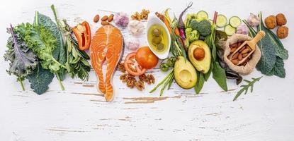 Keto-Diät-Rohstoffe foto