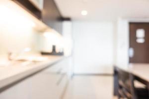abstrakter defokussierter Wohnzimmerhintergrund foto