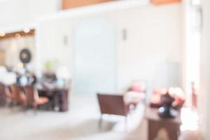 abstrakt defokussierte Hotellobby Interieur