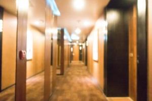 abstrakt defokussiertes Hotelinterieur
