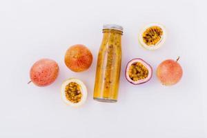 Passionsfruchtkonzept foto