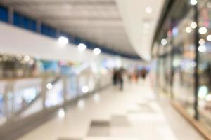 defokussierter Einkaufszentrumhintergrund