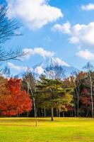mt. Fuji mit in Yamanashi, Japan