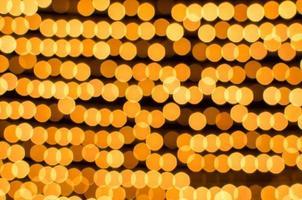 Gold Bokeh hellen Hintergrund