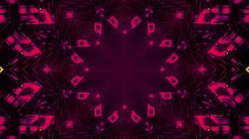 geometrisches dekoratives Muster in der 3D-Illustration foto