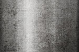 schmutziger Hintergrund der rostfreien Metallbeschaffenheit foto