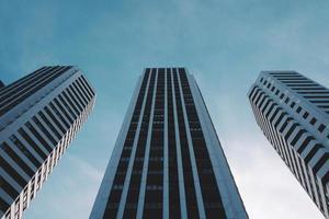 Gebäudearchitektur in der Stadt Bilbao, Spanien foto
